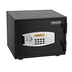Steel Fire & Security Safe with Programmable Digital Lock, 0.52 cu.ft.