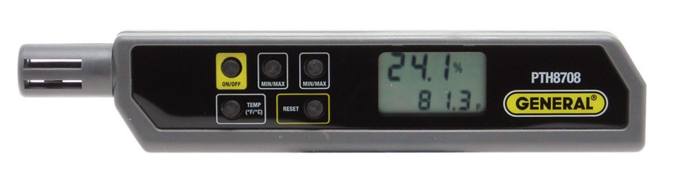 Stylo détecteur de température/humidité