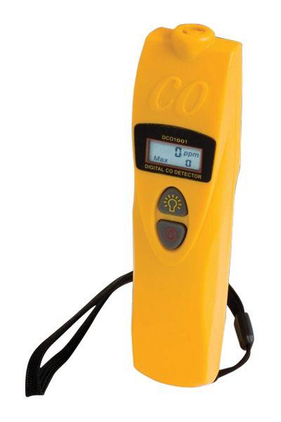 Digital Carbon Monoxide Detector With Case
