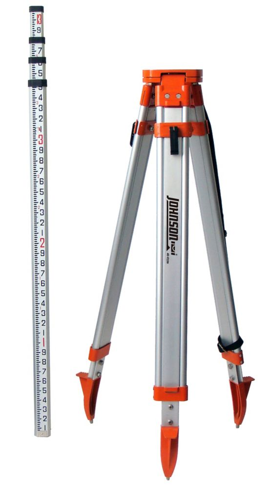Universal Tripod with Grade Rod Kit