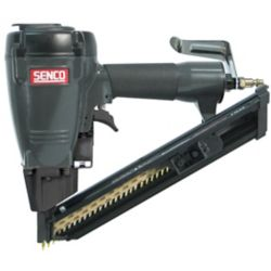 Senco JP150 Drives nails into pre-punched joist hangers