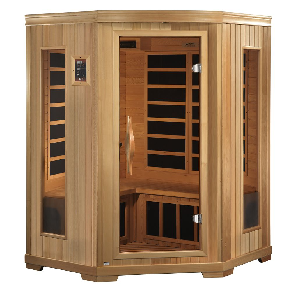 Better life 3 person far infrared sauna with 7 year for Sauna for house
