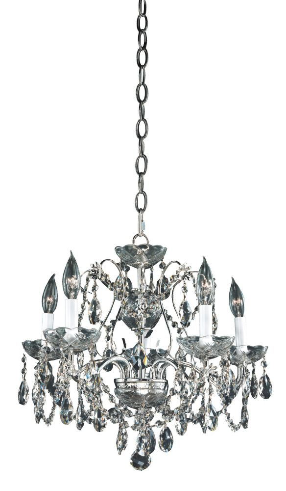 Veranda 5-Light Ceiling Silver Pearl Pendant
