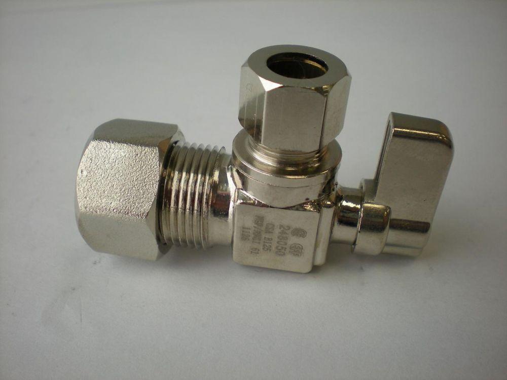 Compression x Compression mini robinet sphérique angle