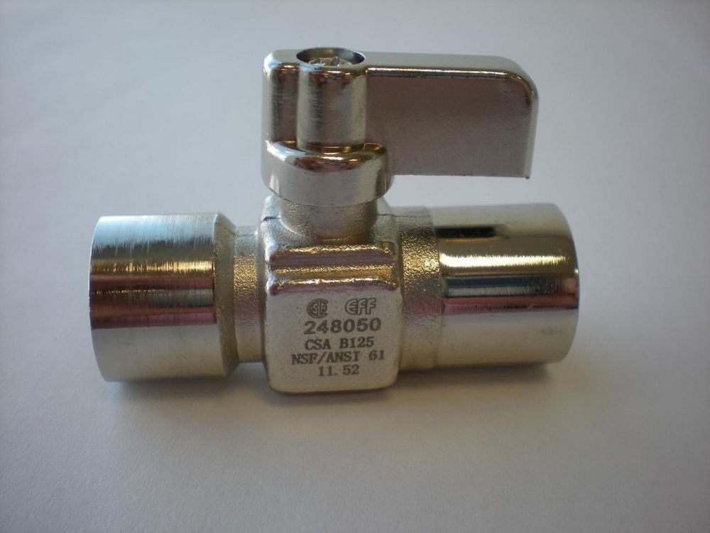 Sweat x Sweat Straight Mini Ball Valve 18-656 Canada Discount