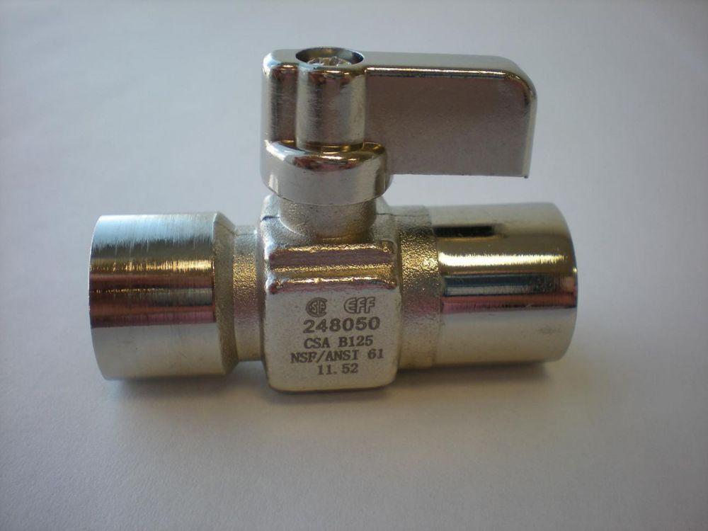 Brasé x Brasé mini robinet sphérique