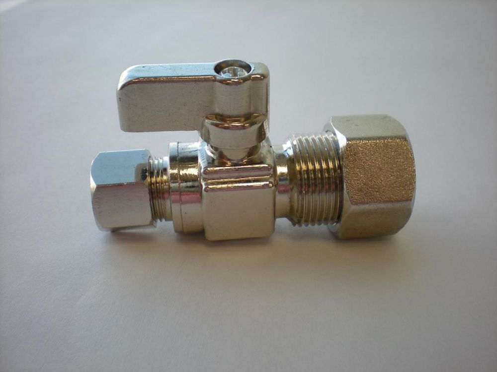 Compression x Compression Mini robinet sphérique