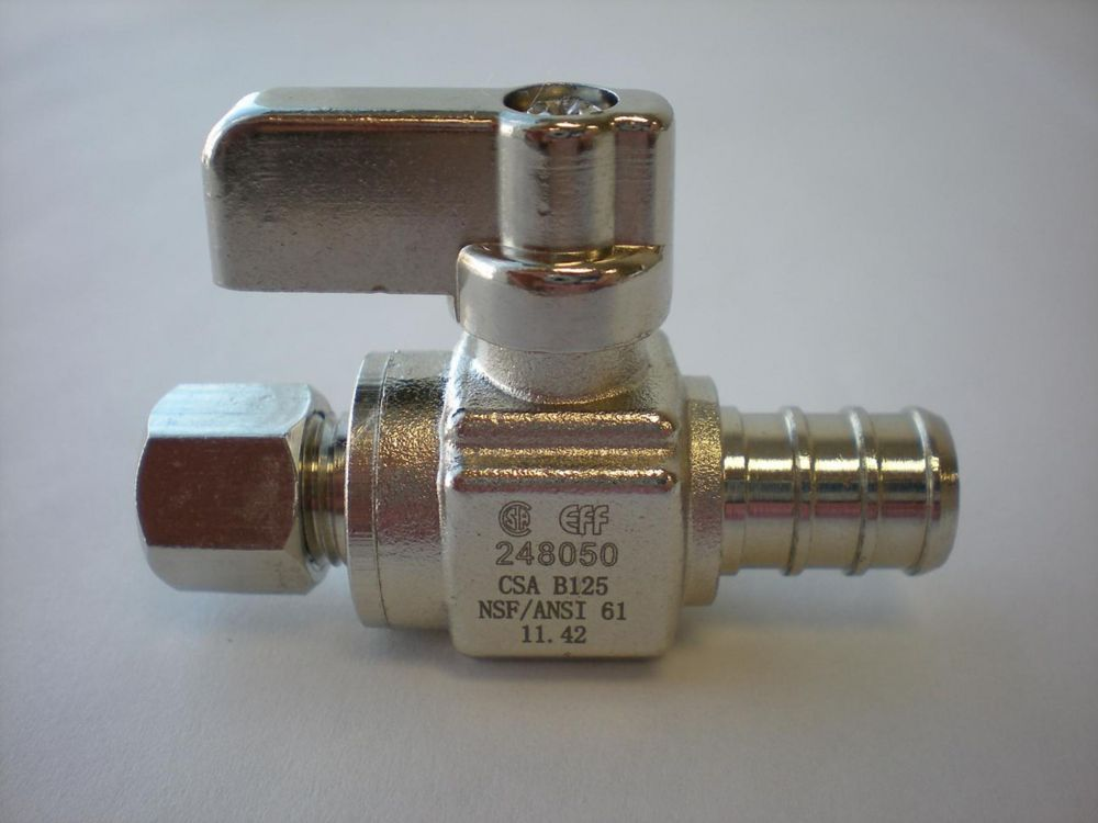PEX x Comp. Straight Mini Ball Valve 18-663 in Canada