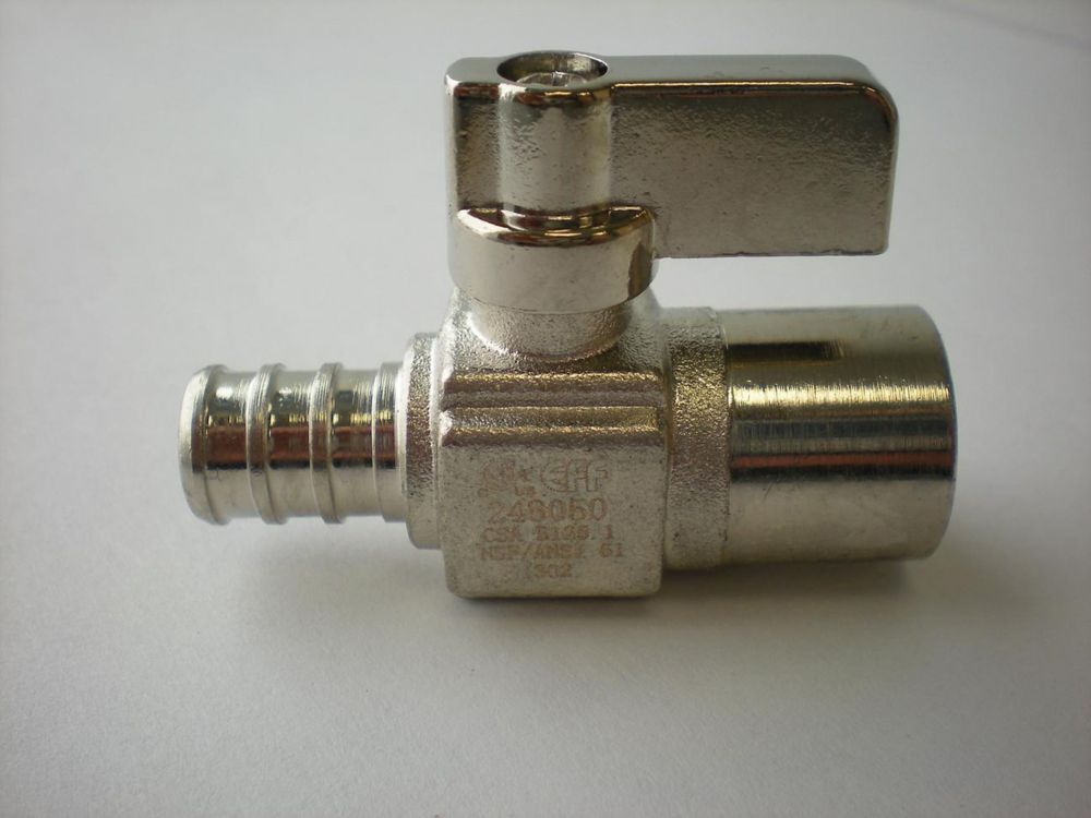PEX x Sweat Straight Mini Ball Valve