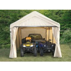 Fellini 12 ft. x 20 ft. Canopy with Zippered Door