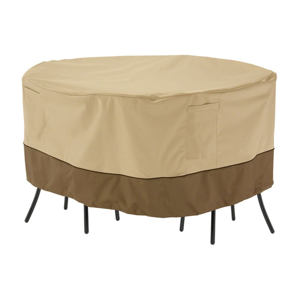 Classic Accessories Veranda Patio Table & Chair Set Cover - Bistro