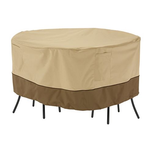 Classic Accessories Veranda Patio Table & Chair Set Cover - Bistro