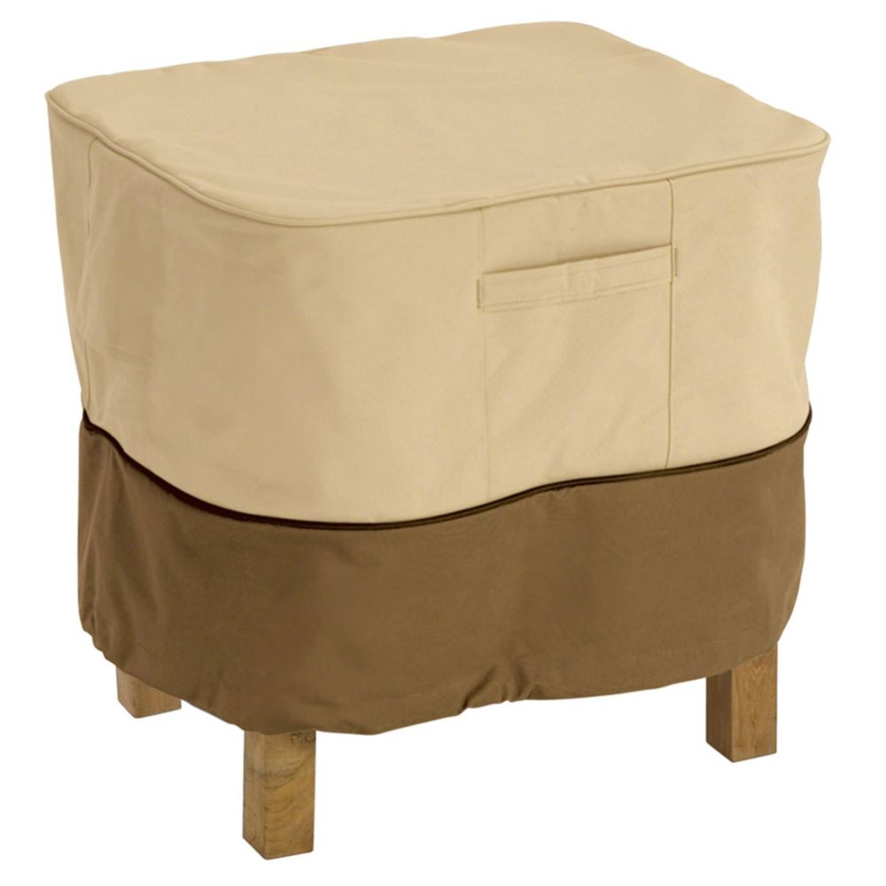 Housse pour ottoman ou table dappoint - petit carré