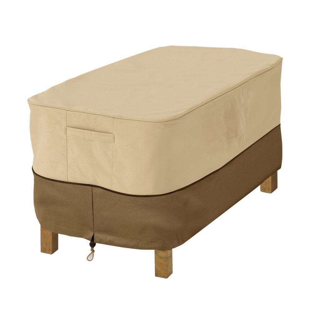 Housse pour table basse de terrasse