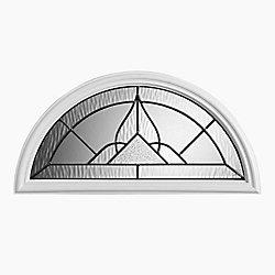 Masonite Oxney 22-inch x 10-inch Ant Black Fan Lite