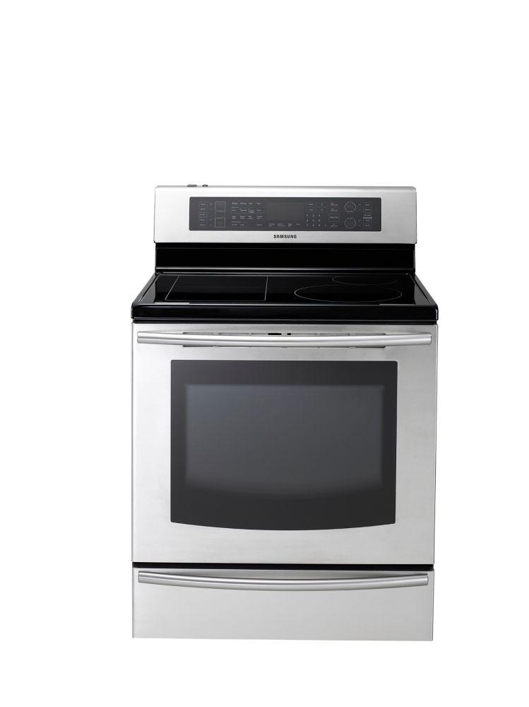 samsung cuisini re induction amovible de 30 po avec four. Black Bedroom Furniture Sets. Home Design Ideas