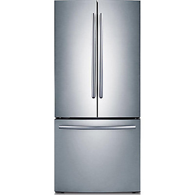 Samsung 30 Inch 216 Cu Ft French Door Refrigerator With Bottom