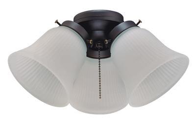 """Ensemble de Luminaire de remplacement pour ventilateurs de plafond standards de 42"""" à 52"""""""