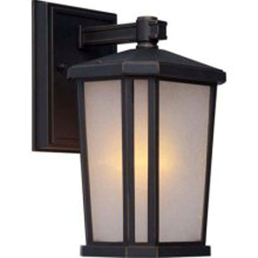 Apollo 1-Light Oiled Bronze Outdoor Wall-Light