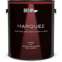 Behr Marquee Marquee 3.7 L Medium Base Flat Exterior Paint with Primer
