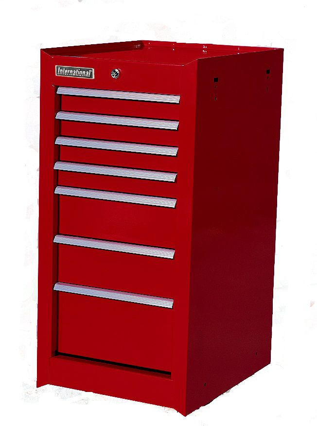 7 drawer Side Cabinet CFS-3007RD Canada Discount