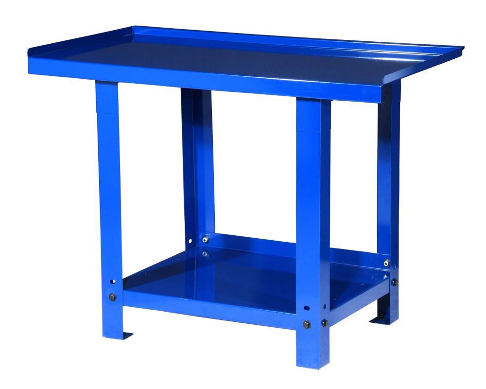 45  Inch. Heavy Duty Steel Workbench