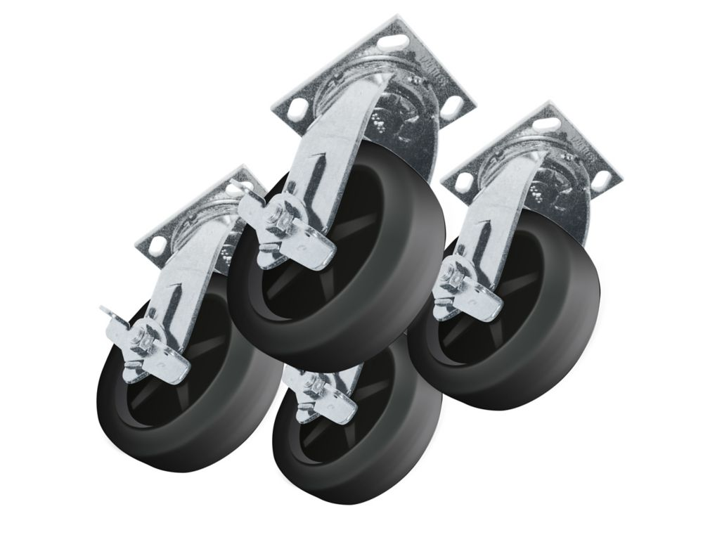 Heavy Duty Caster Set for Job Site Boxes