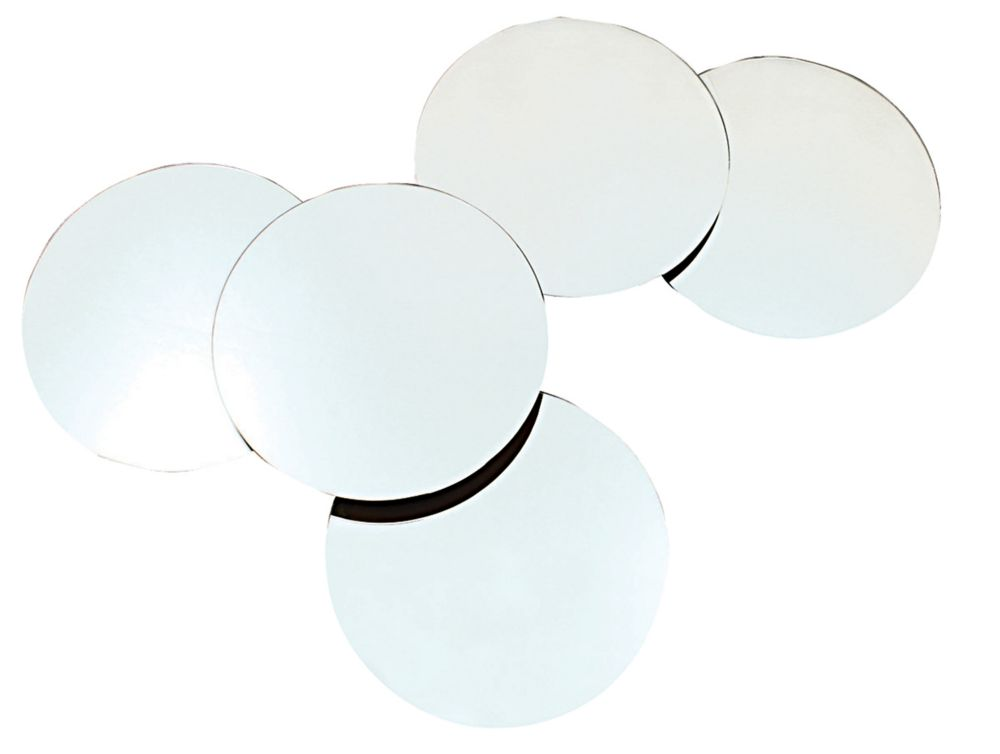 Solei 5Pc Collage Circular Mirrors With 10 Inch Diameter Each, Overall27 Inch X 22 Inch X 2 Inch