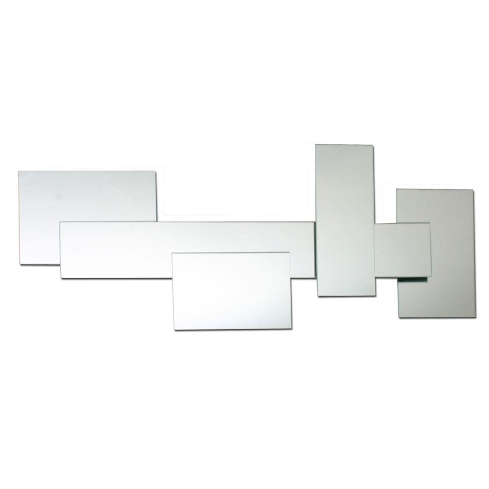 Solei � Jeu de miroirs. Dimensions : 10 po (25 cm) de diamètre chacun, au total : L 27po xH 22...