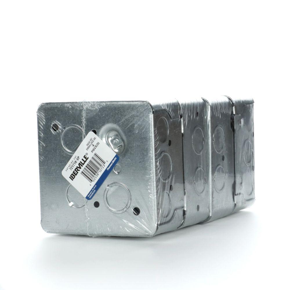 Boîte carrée 72171K Emb/4