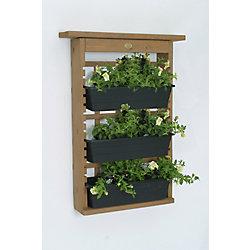 Algreen Products Garden View Jardinière de treillage modulaire intérieur/extérieur