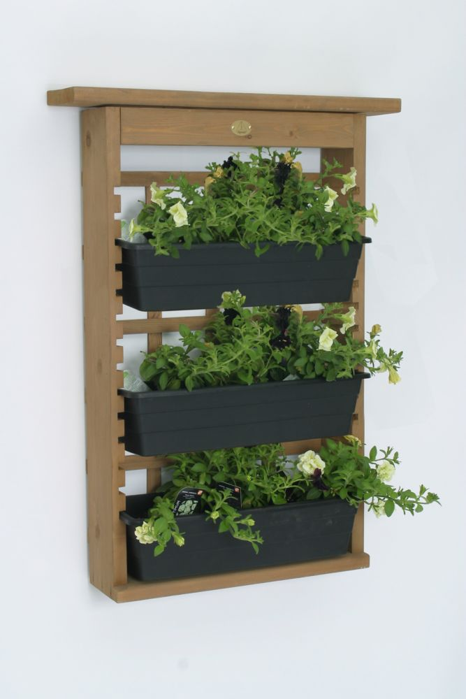 Algreen Products Garden View Decorative Indoor/Outdoor Vertical Garden and Living Wall