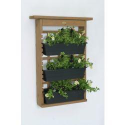 Algreen Products Garden View Decorative Indoor/Outdoor Vertical Garden and Living Wall