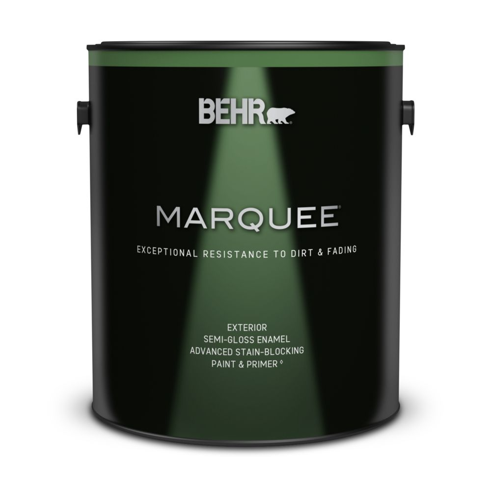 behr marquee behr marquee exterior semi gloss paint. Black Bedroom Furniture Sets. Home Design Ideas