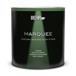 Behr Marquee Marquee 946 mL Medium Base Semi-Gloss Enamel Exterior Paint with Primer