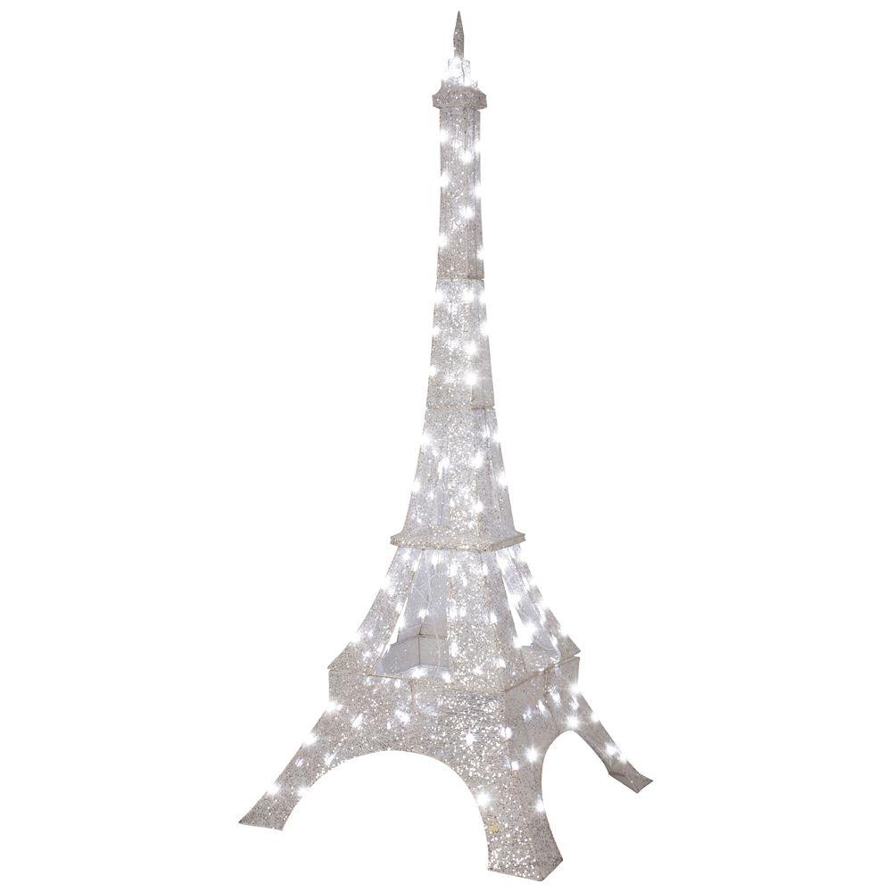 Crystal splendor eiffel tower the home depot canada for Eiffel tower decorations for the home
