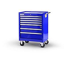 27  Inch. 7 drawer Cabinet, Blue