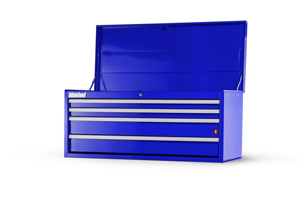 International 42  Inch. 4 drawer Top Chest, Blue