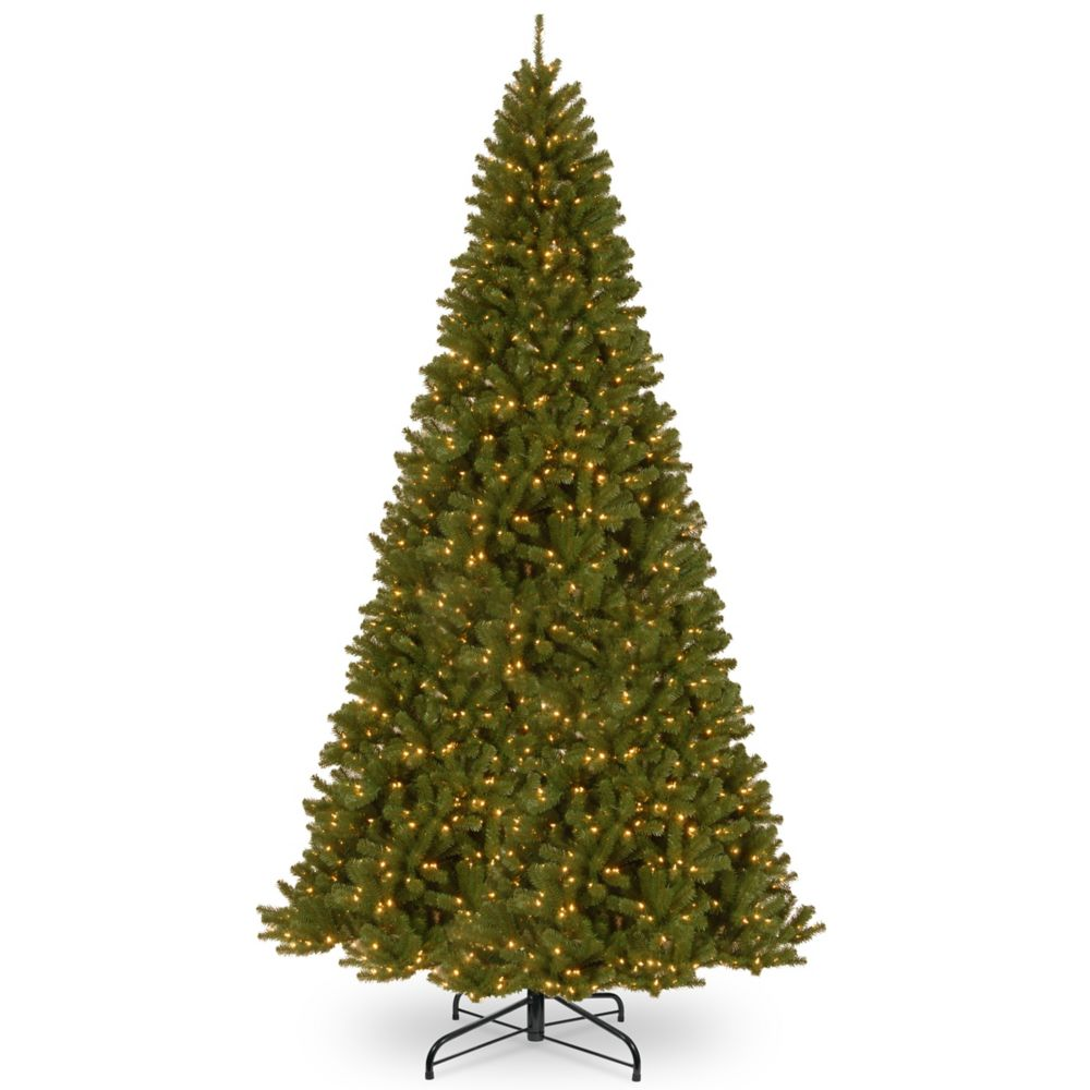 Home Accents Holiday 12 ft. North Valley 1000-Light Incandescent Spruce Tree in Clear