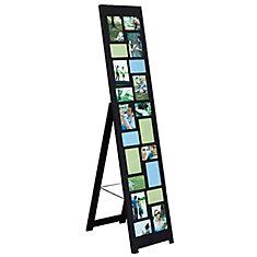 Nisse Floor Collage Frame-Black, Holds Ten 4X6, Ten 5X7