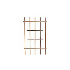 Small 45-inch x 24-inch Cedar Ladder Trellis