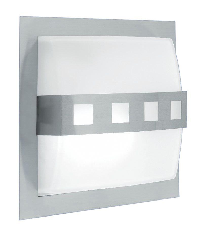 ALICANTE Wall Light 2L, Matt Nickel  Finish, Frosted Glass