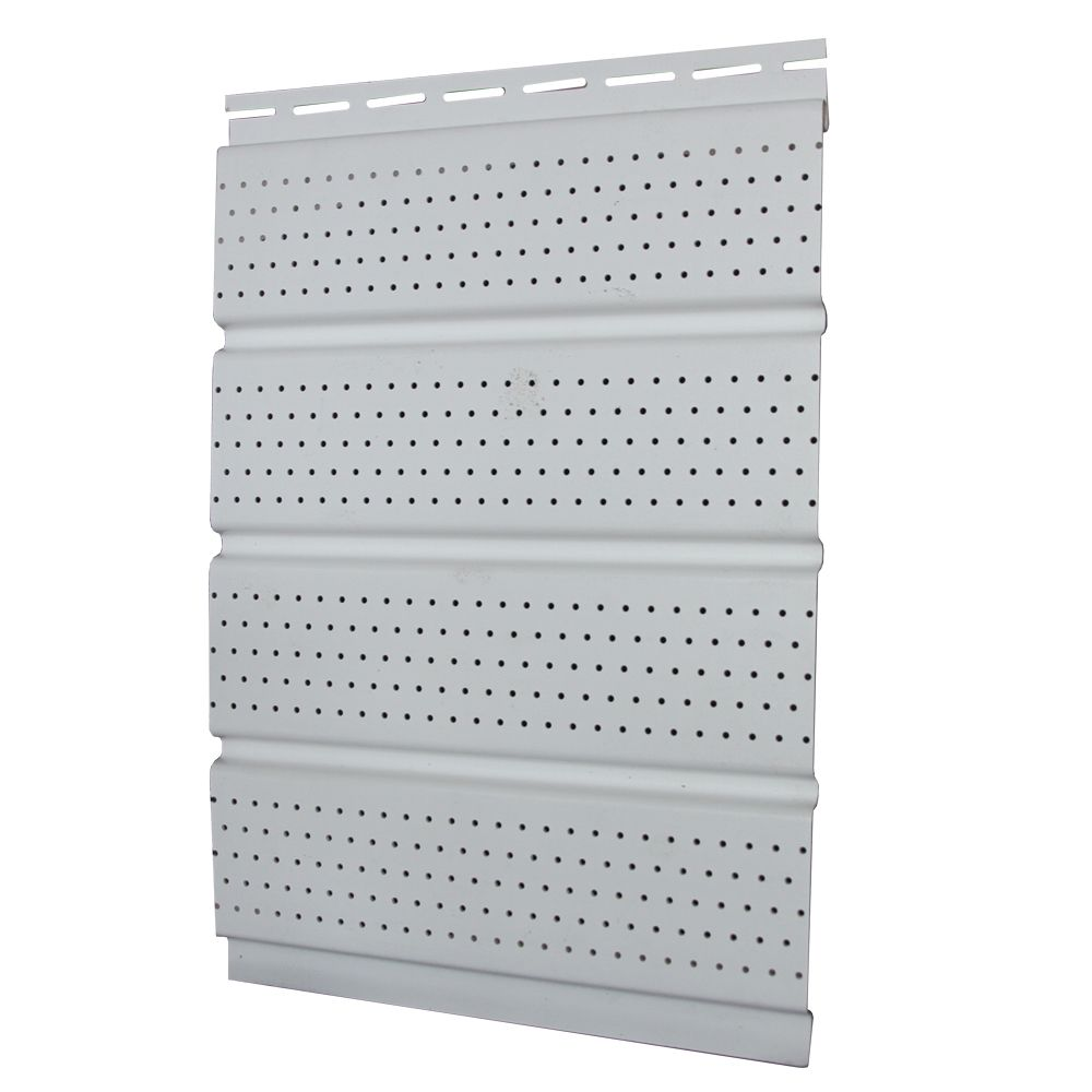 16 In. Perforated Soffit - White Carton 6.21877E 11 Canada Discount