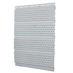 Abtco 16 inch Perforated Soffit - White Carton