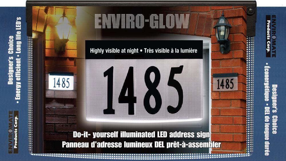Designer's Choice Designer's Choice Enviro-Glow Do-It-Yourself Illuminated Address Plaque Kit