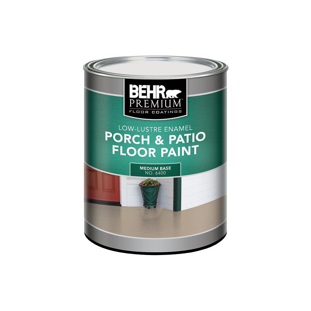 Behr Porch And Patio Paint And Primer Colorfully Behr Painted Floors Behr Concrete Floor
