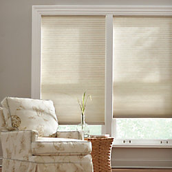 Home Decorators Collection Cordless Light Filtering Cellular Shade Natural 32-inch x 72-inch (Actual width 31.625-inch)