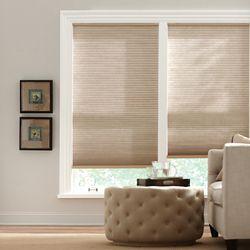 Home Decorators Collection Store alvéolaire filtrant la lumière sans cordon muscade 91,44 cm L x 1,82 m H