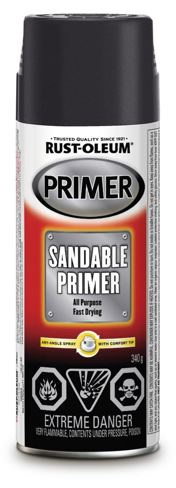 Auto Black Sandable Primer