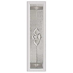 Nouveau 8-inch x 36-inch Sidelight Nickel Caming with HP Frame